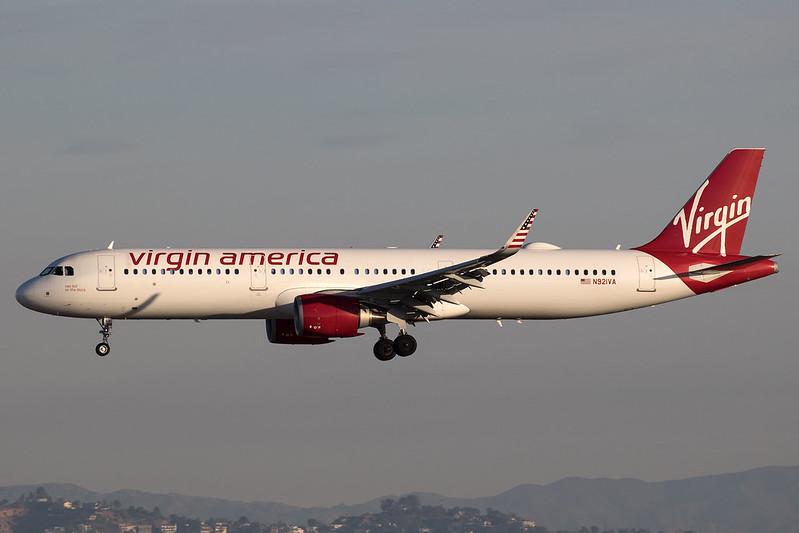 Virgin America_A321_N921VA_LAX_20180115_Approach_sun_I9A4480_Colormailer_Flickr