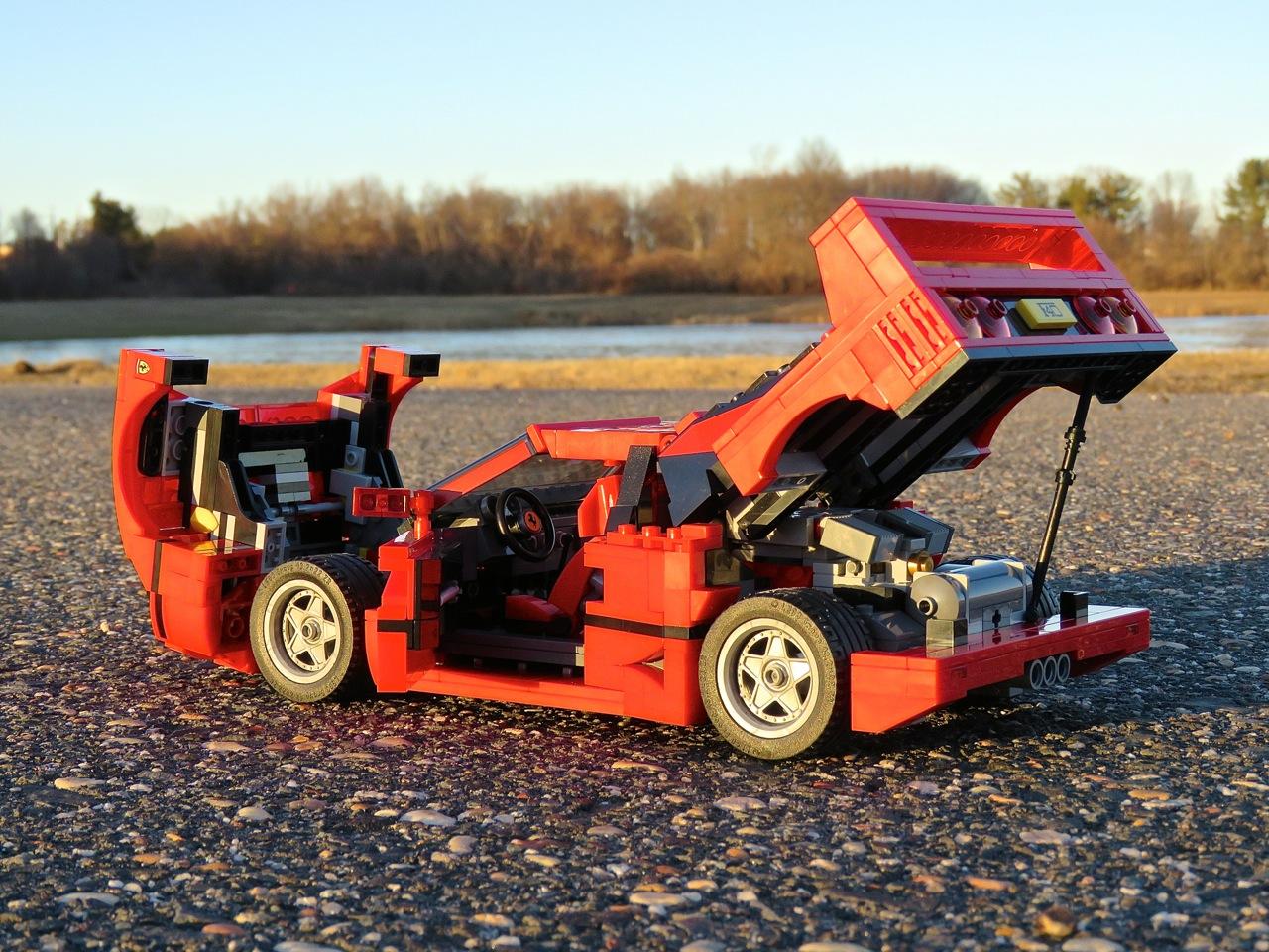 Lego Ferrari F40 12