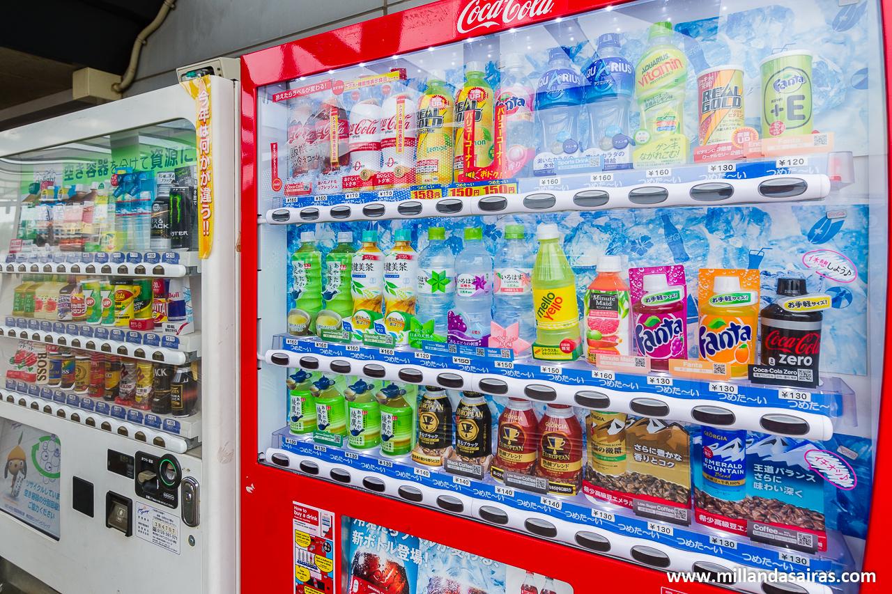 Máquinas de refrescos