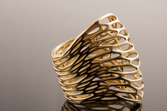 Custom Cell Cycle ring in brass