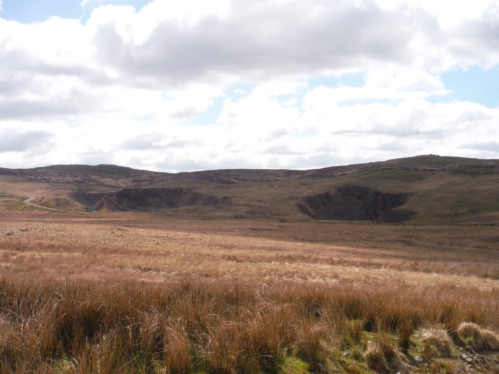 Pwll Byfre Shake Holes SWC Walk 307 - Fforest Fawr Traverse (Craig y Nos to Llwyn-y-celyn)