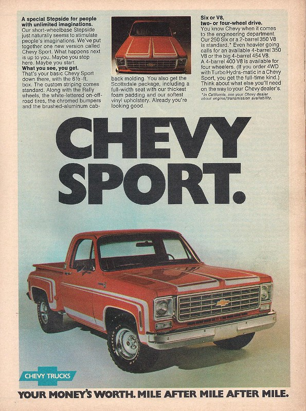 Chevy truck 1976