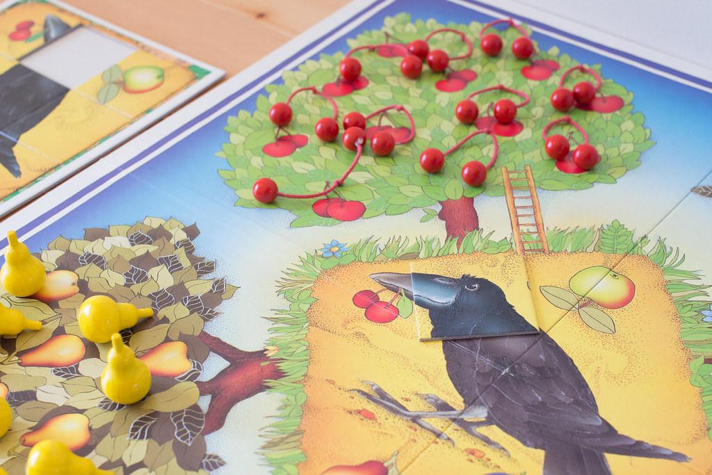 果樹園ゲーム カラス2