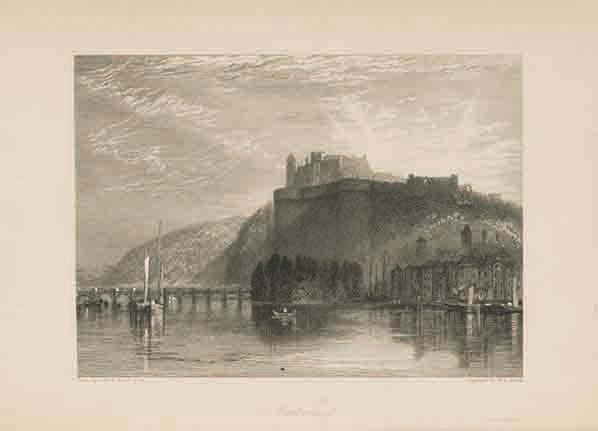 『ターナーの年次旅行』第1巻「ロワール逍遥」(1833年、STコレクション)