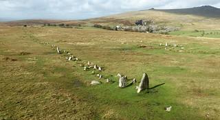 Merrivale 2 stone row