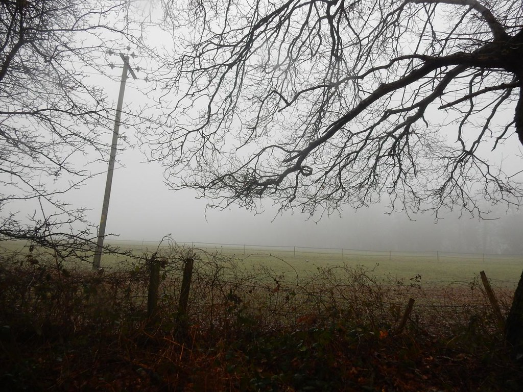 A mist descends Tadworth Circular