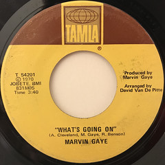 MARVIN GAYE:WHAT'S GOING ON(LABEL SIDE-A)