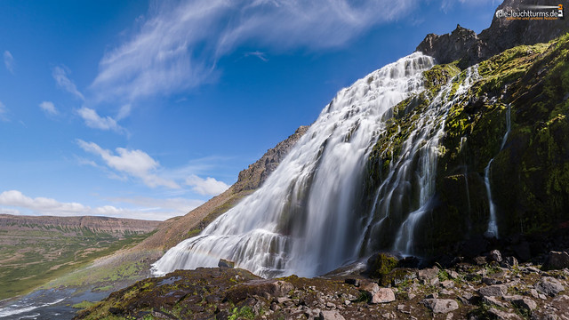The most beautiful waterfall in Iceland