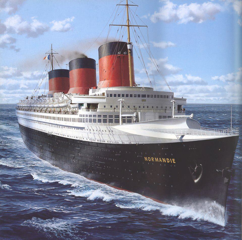 SS Normandie, French Line (1935)