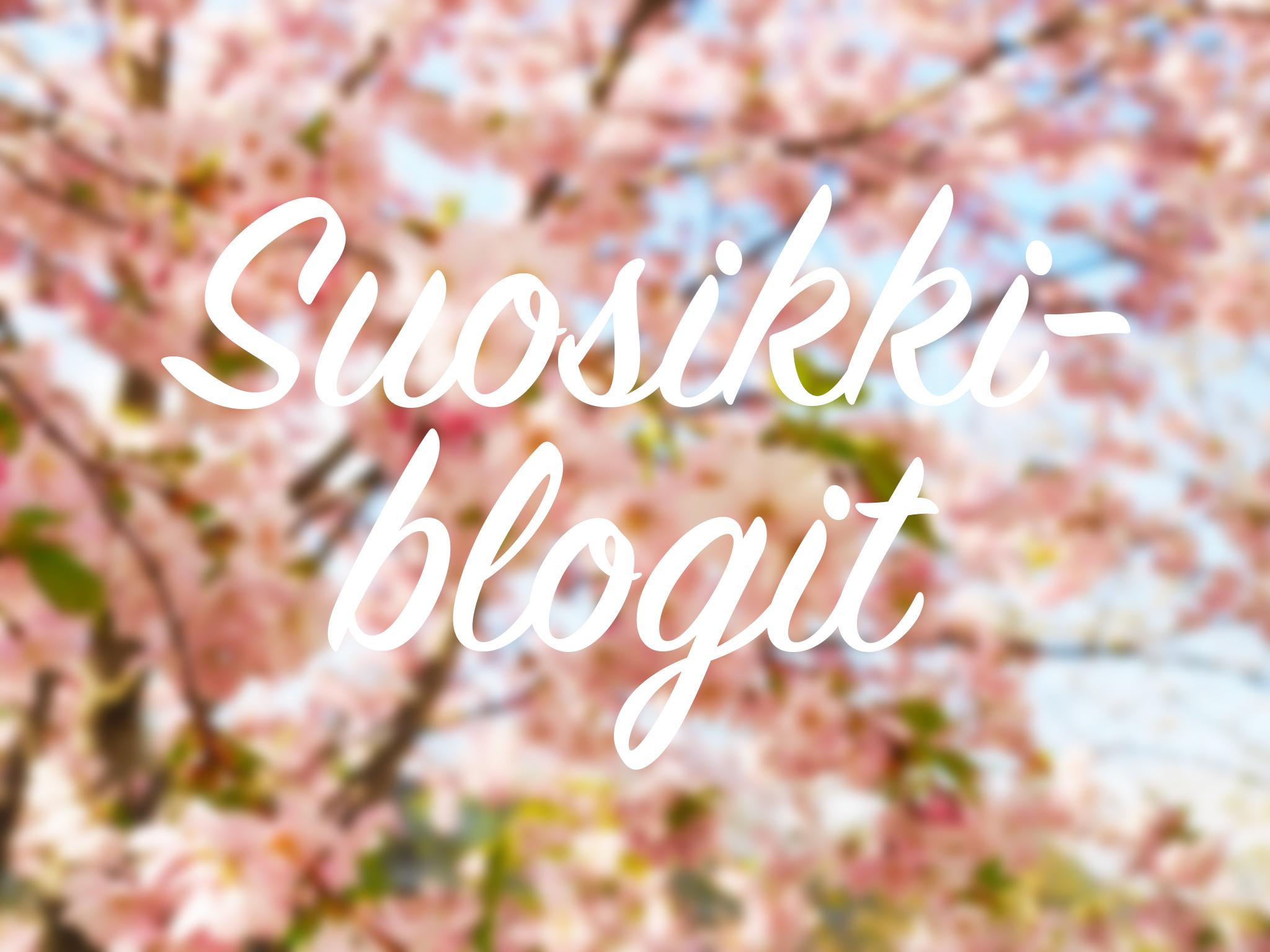 Mun viisi lempiblogia
