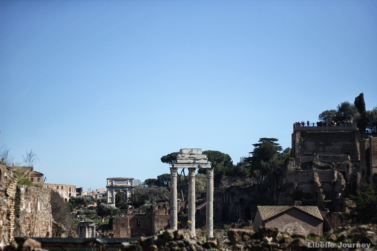 Roman Forum and Temple of Castor and Pollux