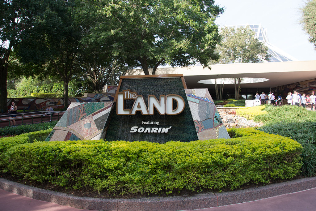 Sign for The Land at EPCOT