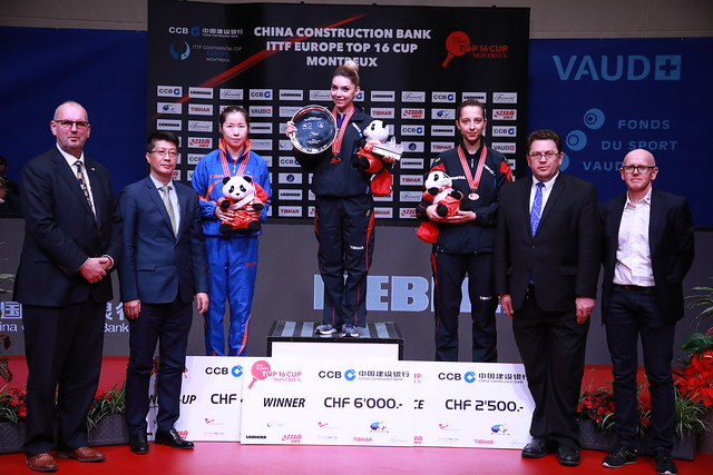 Day 2 - China Construction Bank 2018 ITTF Europe Top 16 Cup