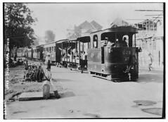 Java - Steam Tram, Batavia (LOC)