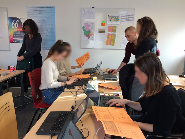Les élèves invités à réfléchir à leur choix d'orientation avant l'ouverture de « Parcousup » (CIO Lyon Ouest)