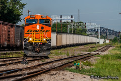 BNSF 5820 | GE ES44AC | NS Memphis District
