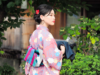 ** Charming young lady ** .. Kyoto
