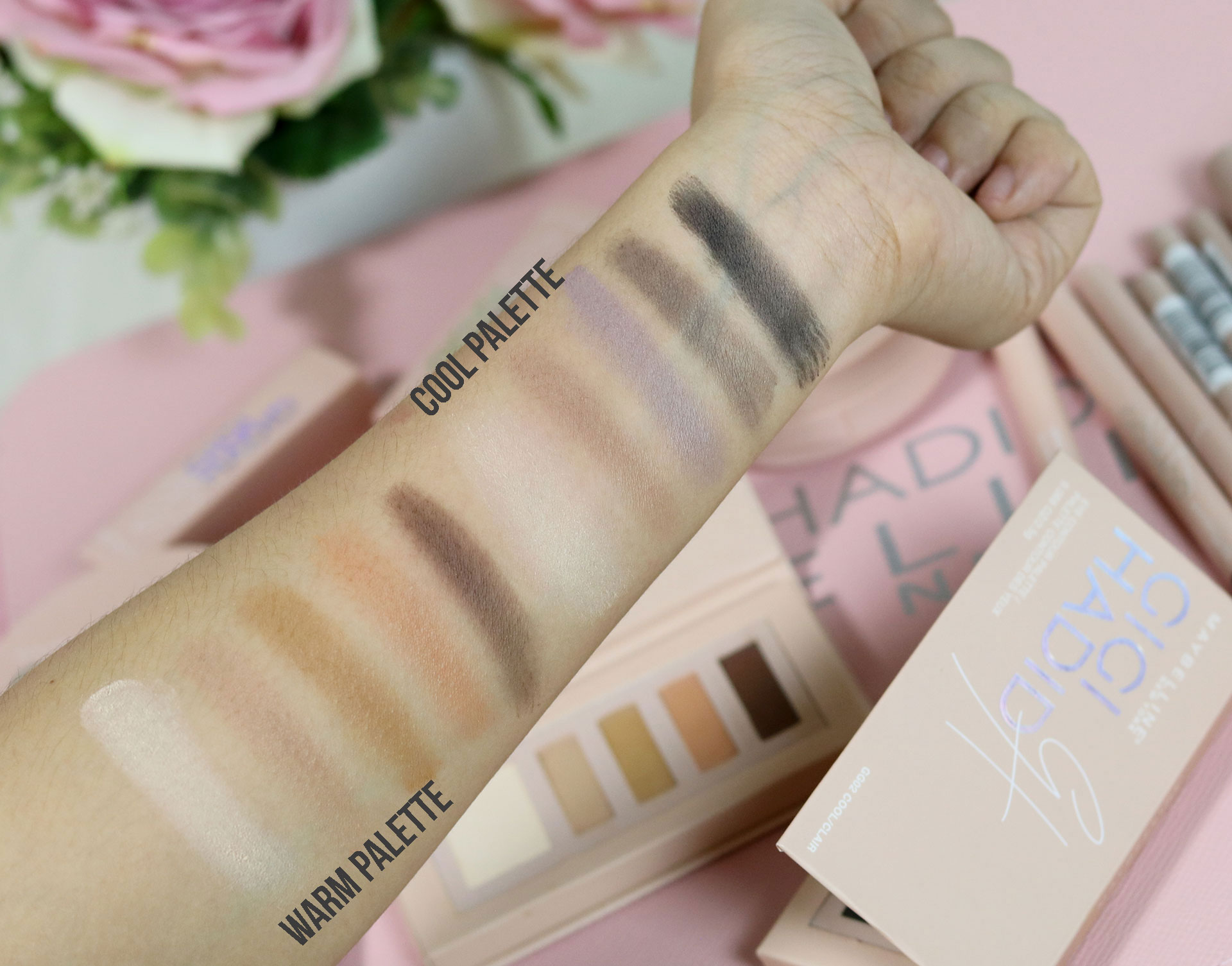 27 Gigi Hadid Maybelline Collection Review Swatches Photos - Gen-zel She Sings Beauty