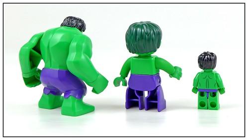 LEGO Marvel Superheroes Hulk Minifigure, Bigfigure & Duplo figure 03