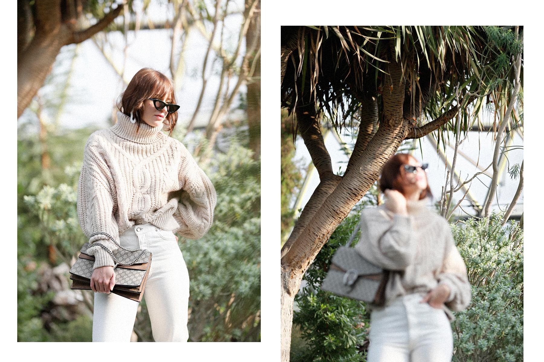outfit big cable knit white cord pumps mango adam selman x le specs last lolita sunglasses ootd outfitblogger styleblogger modeblogger catsanddogsblog düsseldorf ricarda schernus max bechmann fotografie film 4