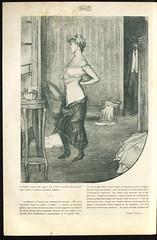 Ilustracio per a un text de Victor Català a la revista Feminal