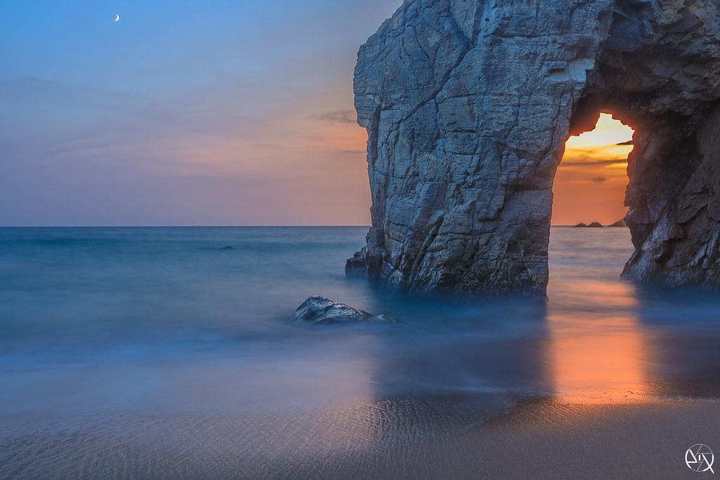 Beg an aud brittany france tripcarta - Camping port blanc saint pierre quiberon ...