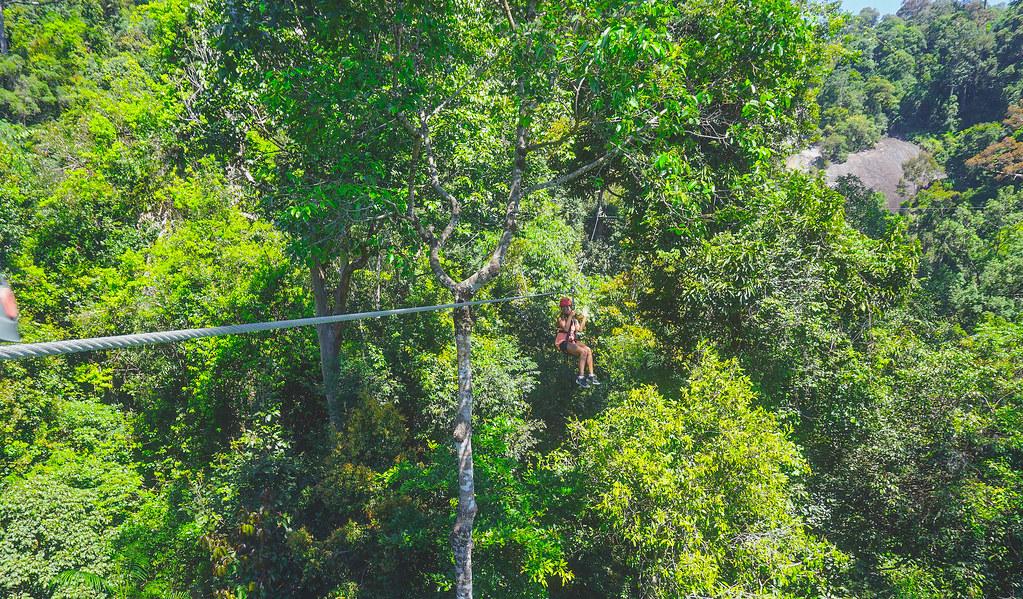 Zipline: Umgawa Legendary Adventures in Langkawi, Malaysia