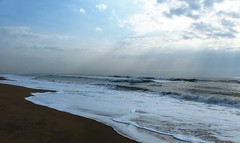 Sea - Bay of Bengal - just behind my home