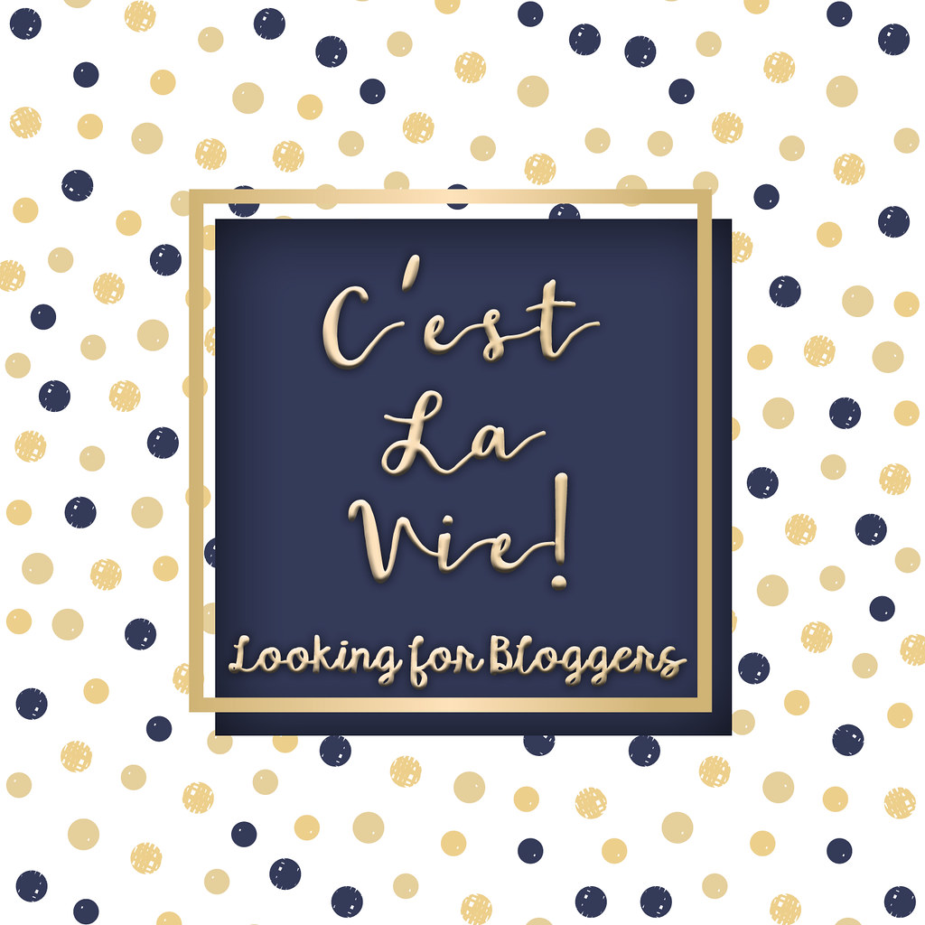 ::C'est la vie !:: BLOGGER APPLICATION ?