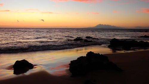 Keawakapu Beach Sunset