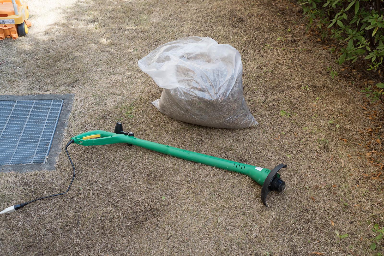 家庭用電動草刈機-22