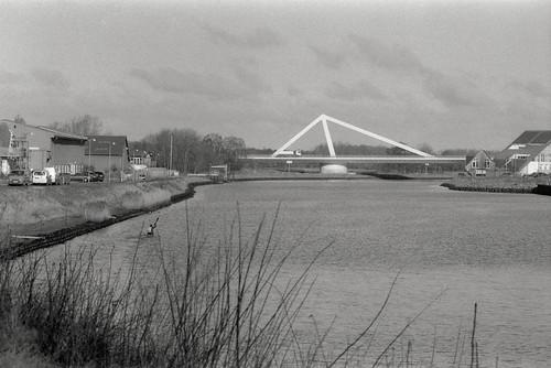 Kajakken og Odins Bro over Odense Kanal