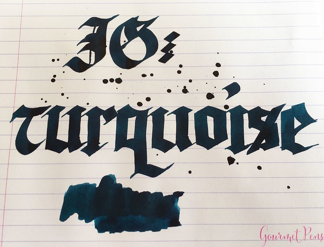 Ink Shot Review KWZI Turquoise @AppelboomLaren 6