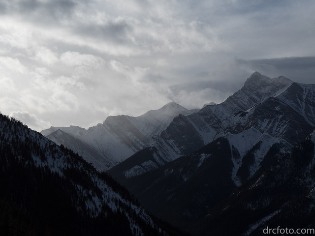 Mountains from Wasootch Ridge, Olympus E-M5MarkII, Lumix G Vario 14-140mm F3.5-5.6 Asph. Power OIS