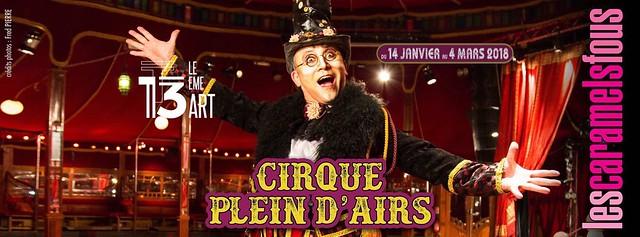 Caramels fous - Cirque plein d'airs