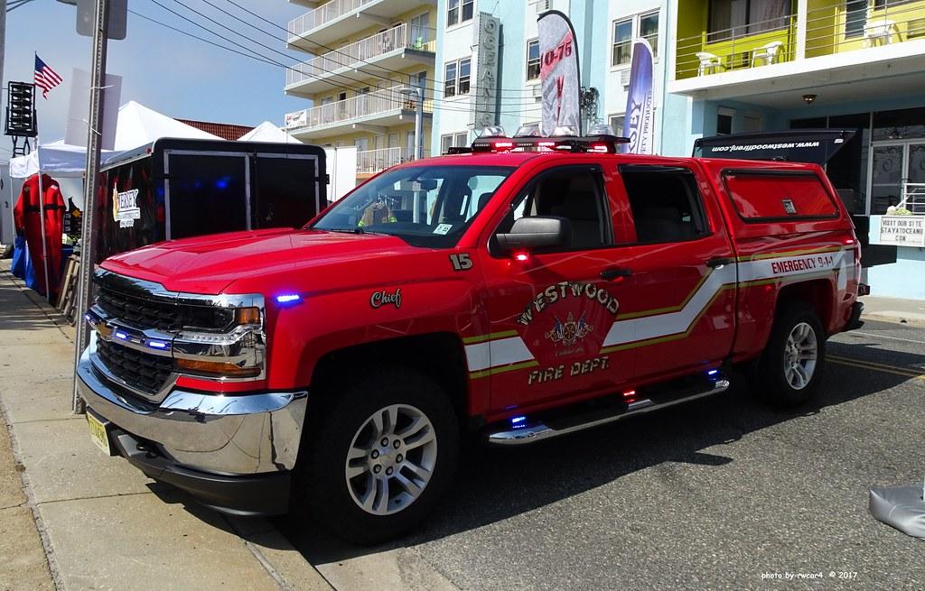Westwod NJ Fire Dept - Fire Chief - Chevrolet Silverado (2 ...