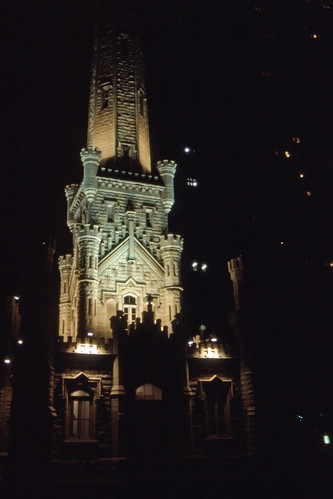 Chicago Water Tower - Kodachrome - 1987