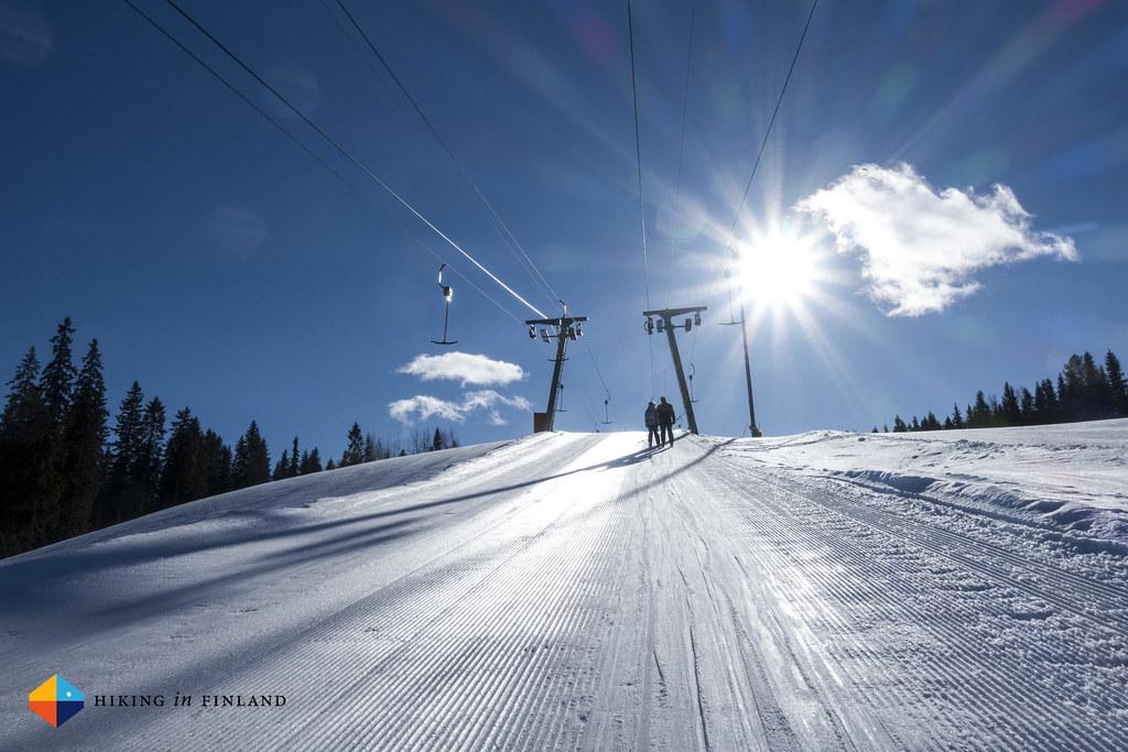 Sunny Vuokatti slopes!