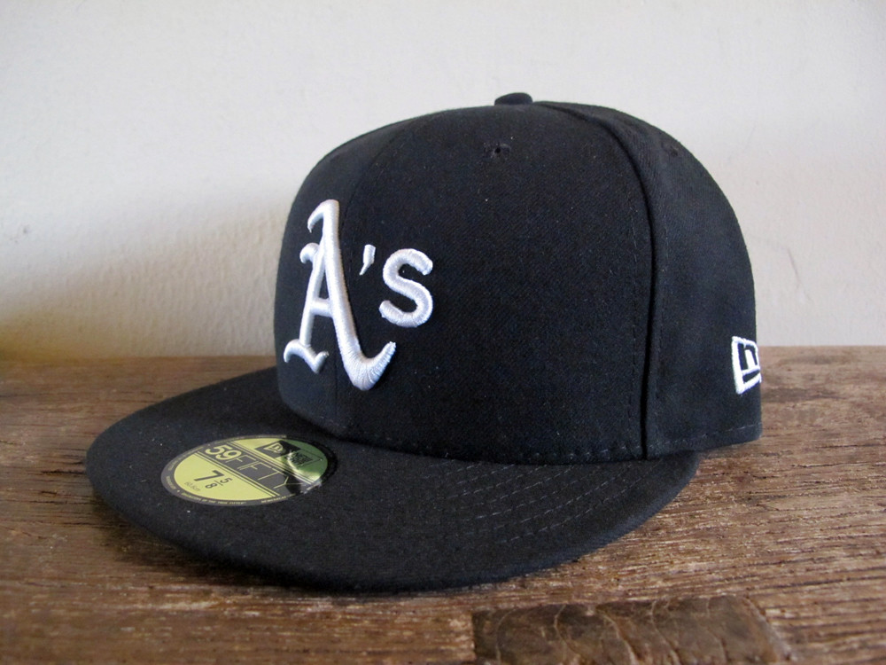 reputable site 9182a 90977 ... store oakland as x g eazy black new era 59fifty fitted cap 7 5 8 hat  b5ed4
