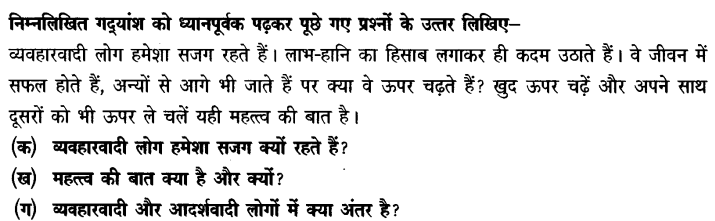 Chapter Wise Important Questions CBSE Class 10 Hindi B - पतझर में टूटी पत्तियाँ 12