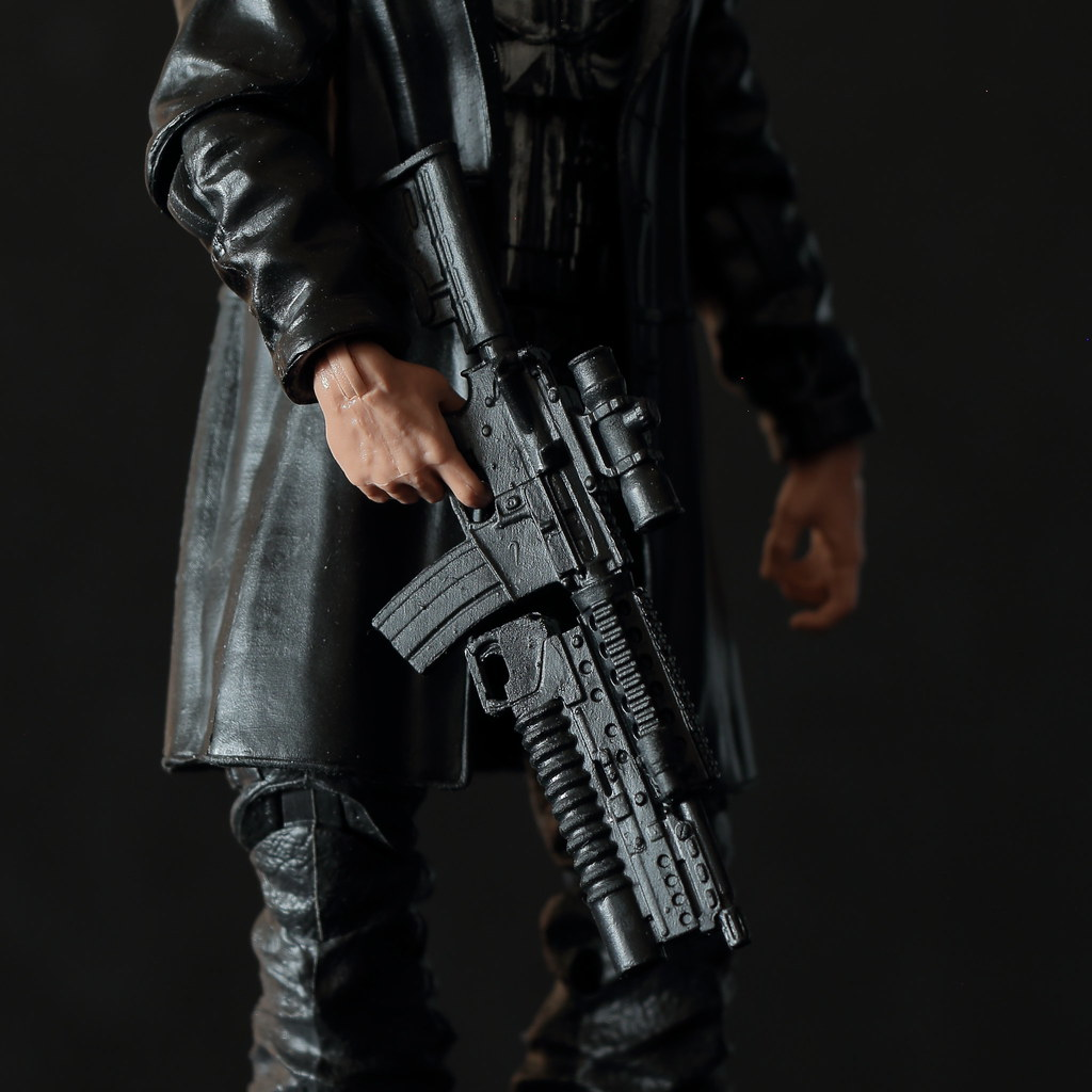Marvel Legends Punisher, Man-Thing BAF series