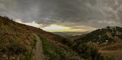 Day 27 of 365 - Pano of Ben Lomond Peak Trail