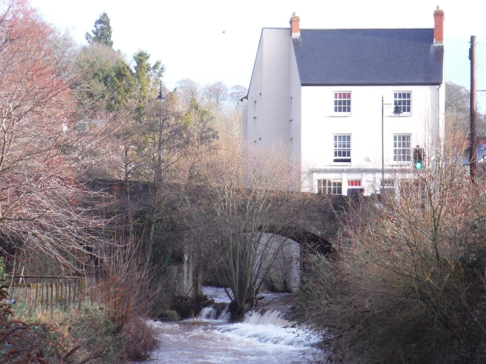Bridge over River Honddu, Brecon SWC Walk 306 - Brecon Circular (via Y Gaer, Battle and Pen-y-crug)