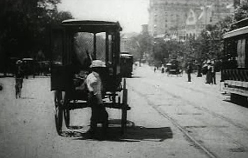 Washington DC street 1903-1