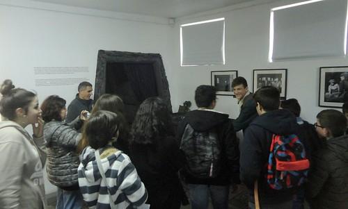 Visita de alunos da Escola do Olival - VNG
