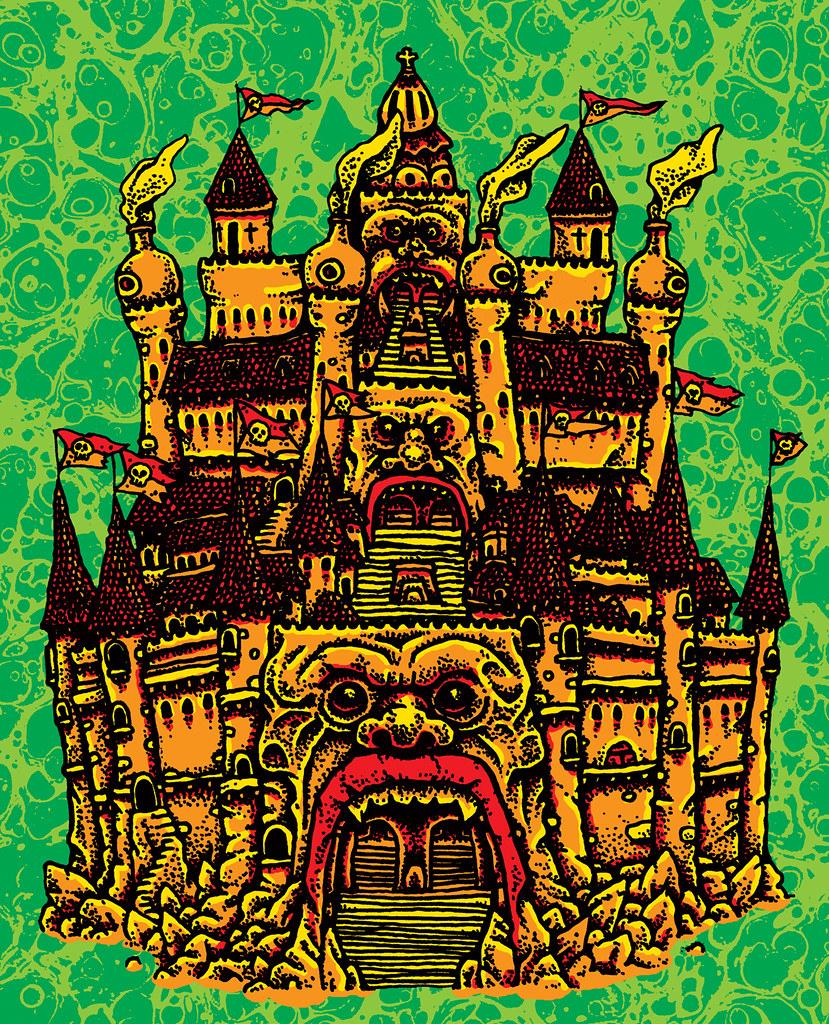 Sean Aaberg - Dungeon Degenerates - BRUTTELBERG FORTRESS CITY