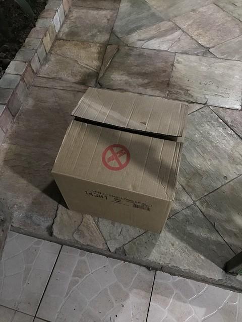 Twinkle inside a box