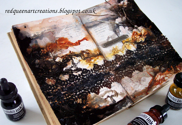 art journal page grunge 3