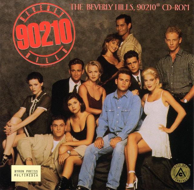 90210 - The Beverly Hills 90210 CD-ROM (Byron Press Multimedia)