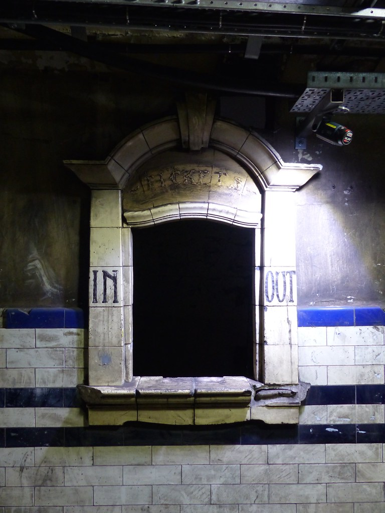 This is a picture of booking office on the Lost Tunnels tour